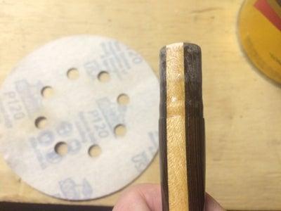 Epoxy on Brush Handle
