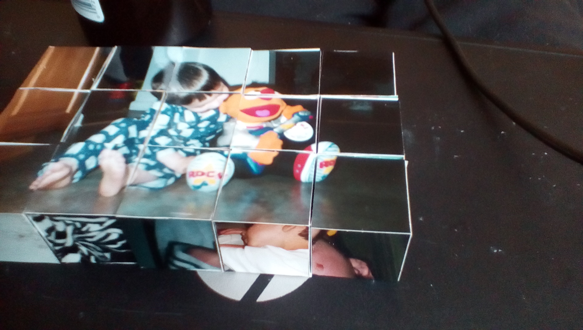 Picture of Photo Cube Puzzle