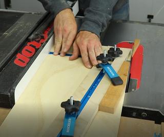 DIY T-Track Tapering Jig