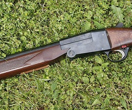 How to Make a Paper Double Barreled Sawn-off Shotgun