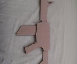 Cardboard Assault Rifle!