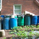 Multiple Rain Barrels