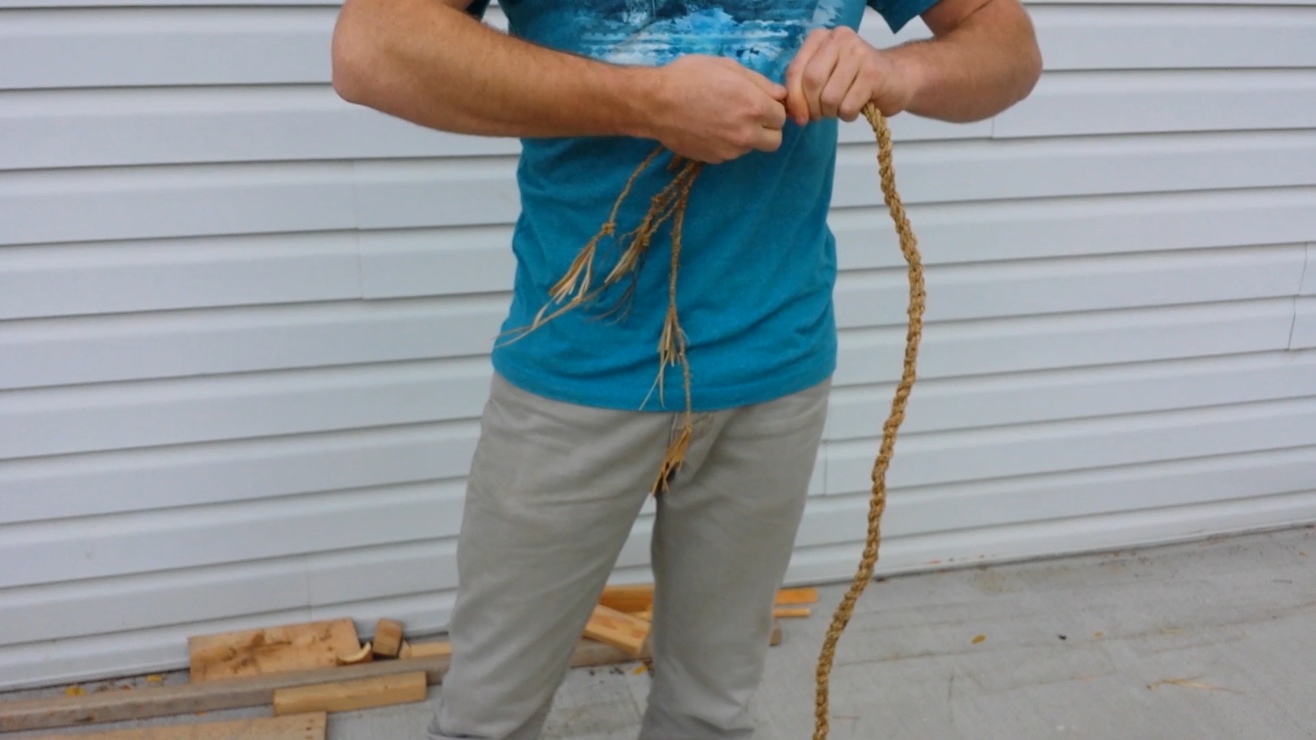 Picture of Finish Putting the Rope Together