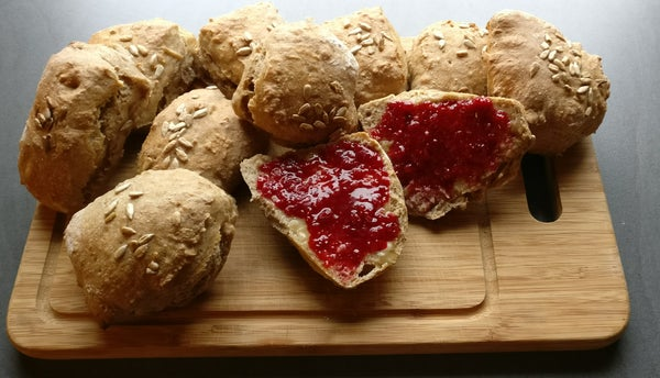 Morning Bread Rolls for Lazy Bakers