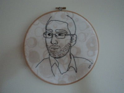 Embroidered Portrait #3