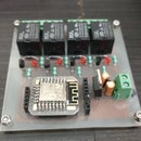ESP 12E Home Automation Board (Control Relays Over the Internet)