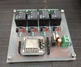 ESP 12E Home Automation Board