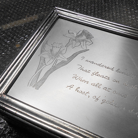 Picture of Faux Pewter Trinket Box