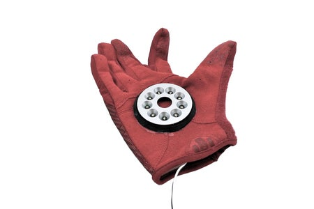 [Repulsor Glove] Attaching the Reflecting Plate to the Glove