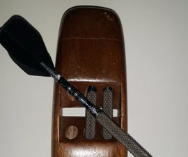 Dart Case For Your Pocket With Sliding Dovetail Lid
