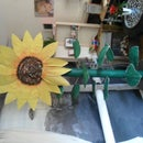 HOW TO BUILD... A 8Ft Sun flower, Lol