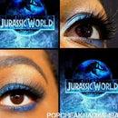 Jurassic World- Fall Inspired Makeup By PorcheaKhadijiahBaby
