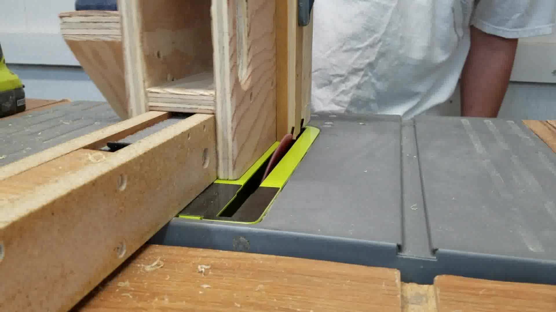 Picture of Cutting Small Panels