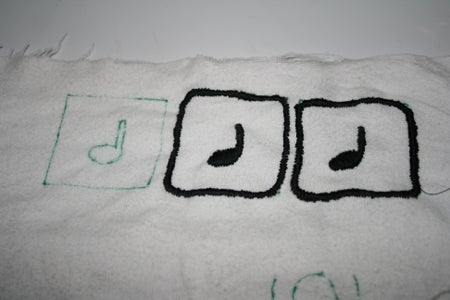 Circles and Music Note Boxes/Pockets