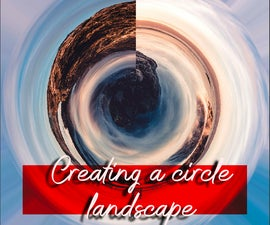 Create a Circular Landscape Using Digital Manipulation