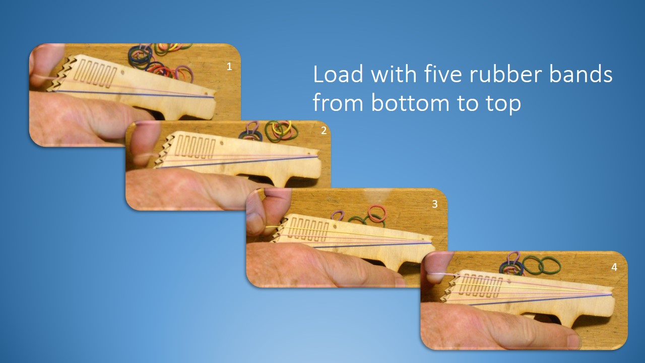 Picture of Load With Rubber Bands