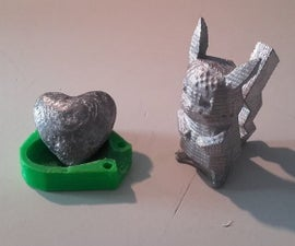 Metal Casting – 3D printed ABS molds to be eliminate with acetone