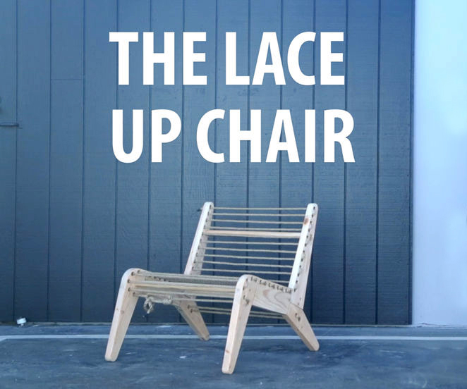 Picture of Lace-Up Chair
