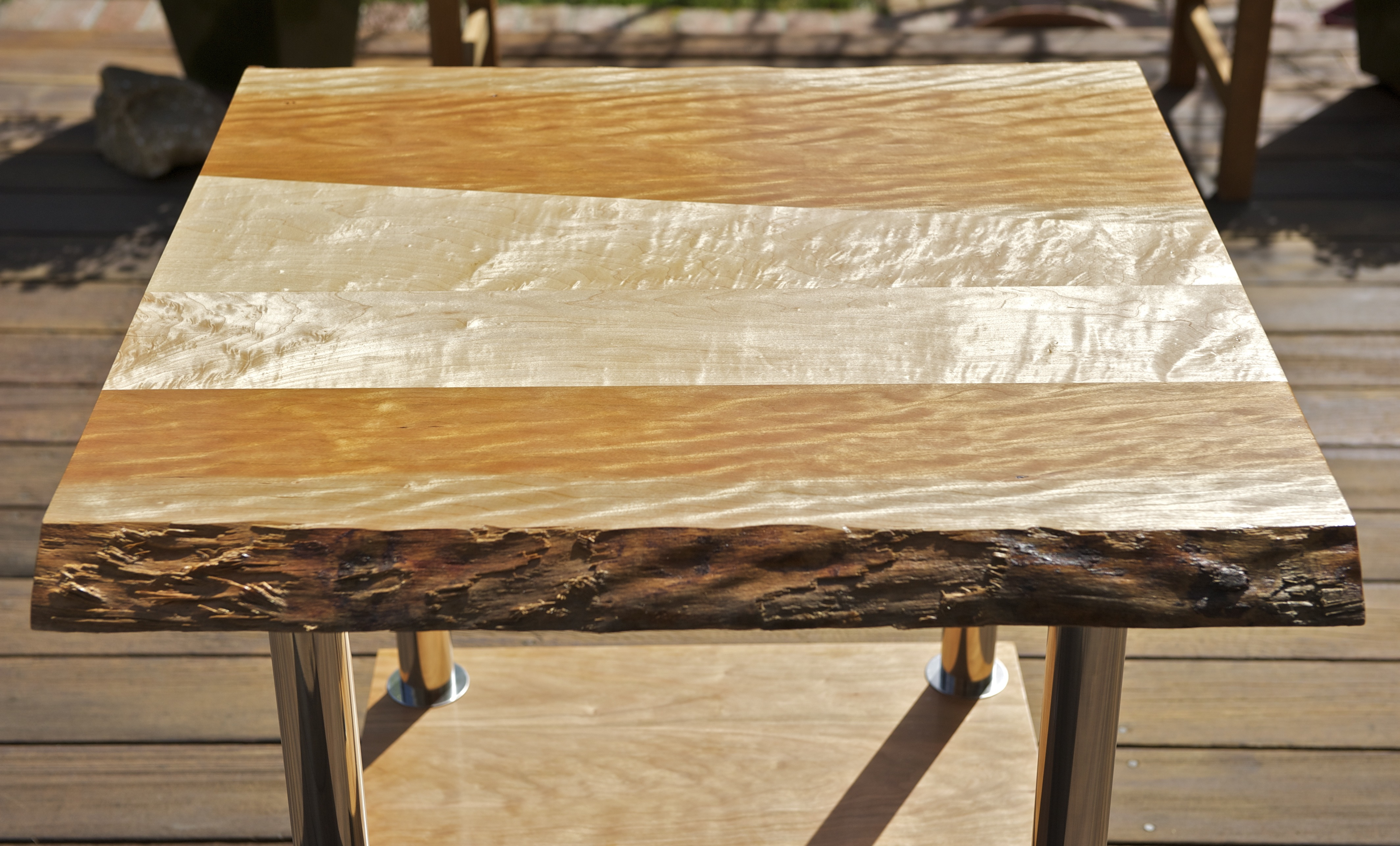 Picture of Live-Edge End Table