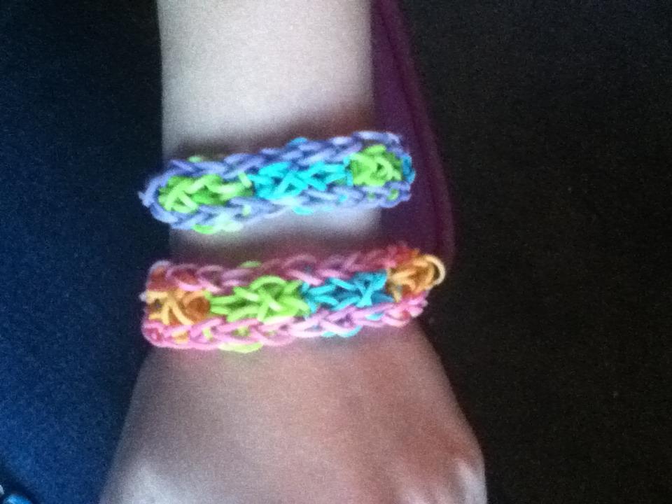 Picture of The Hexagon Rainbow Loom Bracelet