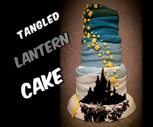 """Disney's Tangled Cake. """"I See the Light"""""""