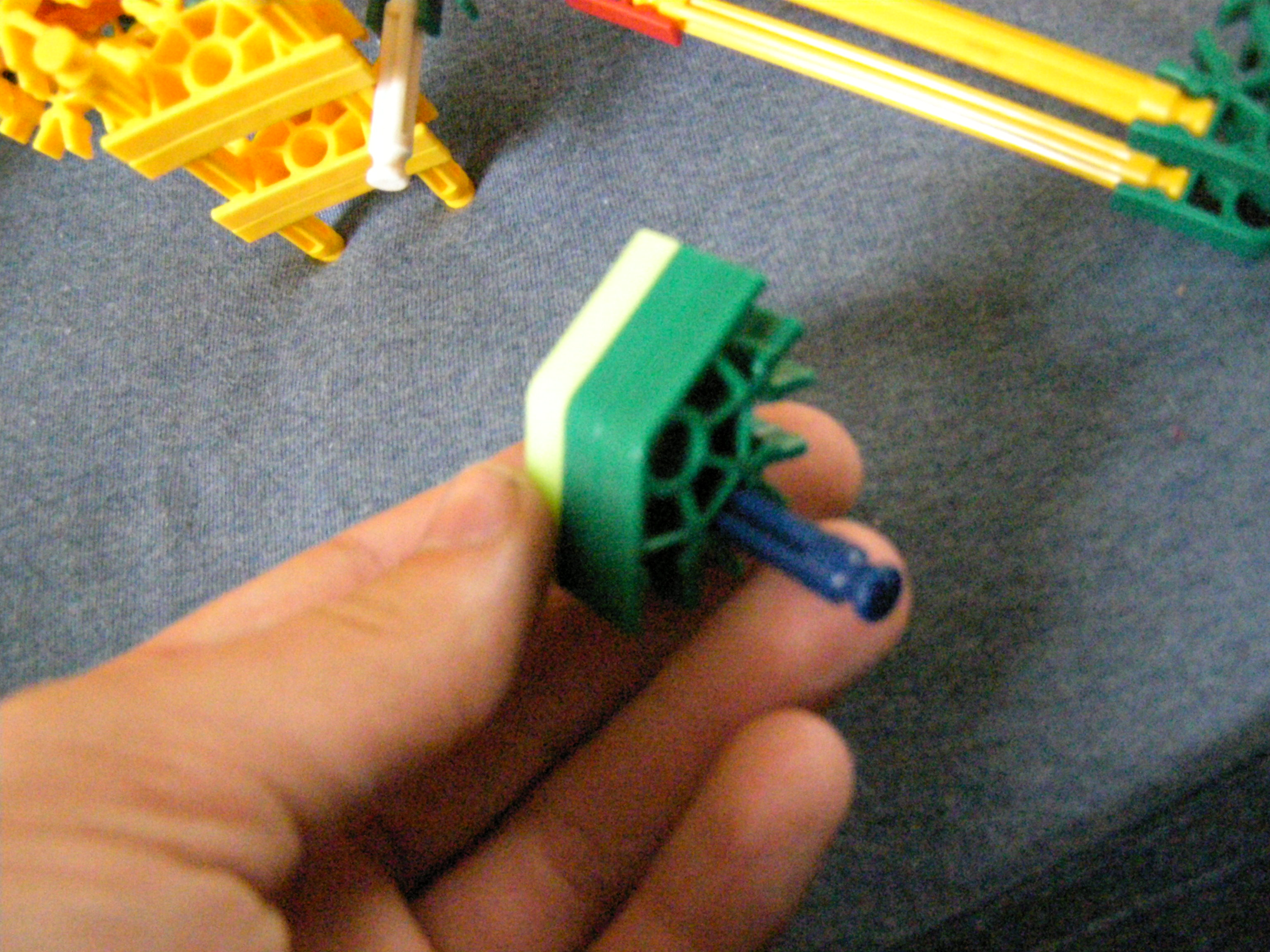 Picture of Making the Trigger-stop and Reinforcing Handle and Frame
