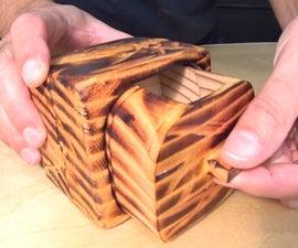 Primitive Little Keepsake Box