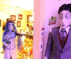"Tim Burton ""Corpse Bride"" Costumes"