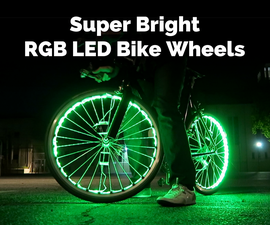 Super Bright RGB LED Bike Wheels
