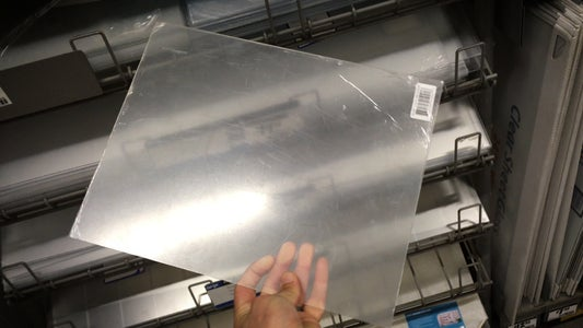 Go to a the Hardware Store and Get Some Plexiglass