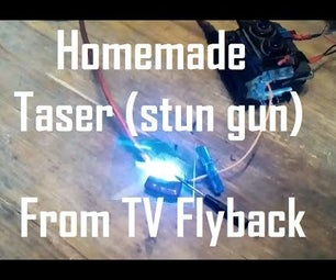 Homemade Taser (Stun Gun)