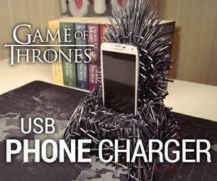 Iron Throne Phone Charger