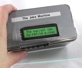 The Raspberry Pi Powered Joke Machine
