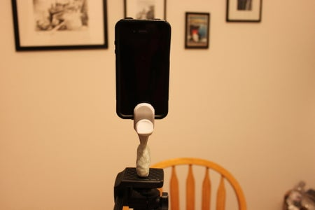DIY IPhone Tripod Mount - Easy and Cheap! : 6 Steps ...