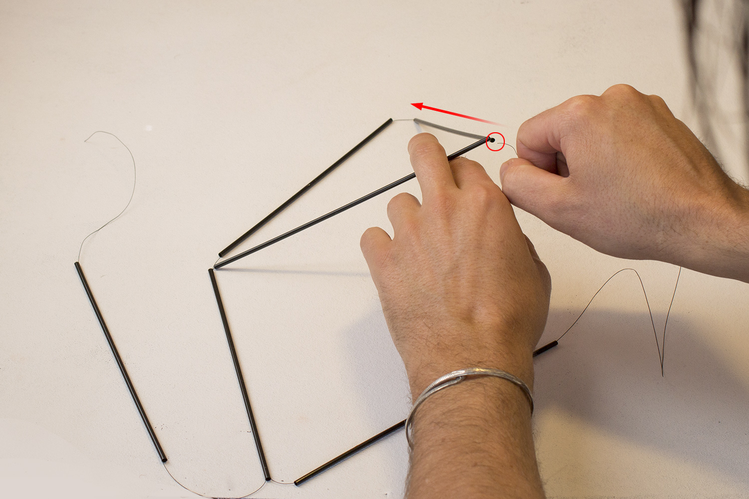 Picture of Creating the Tetrahedron Modules