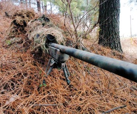 Camo Sniper bunker/foxhole