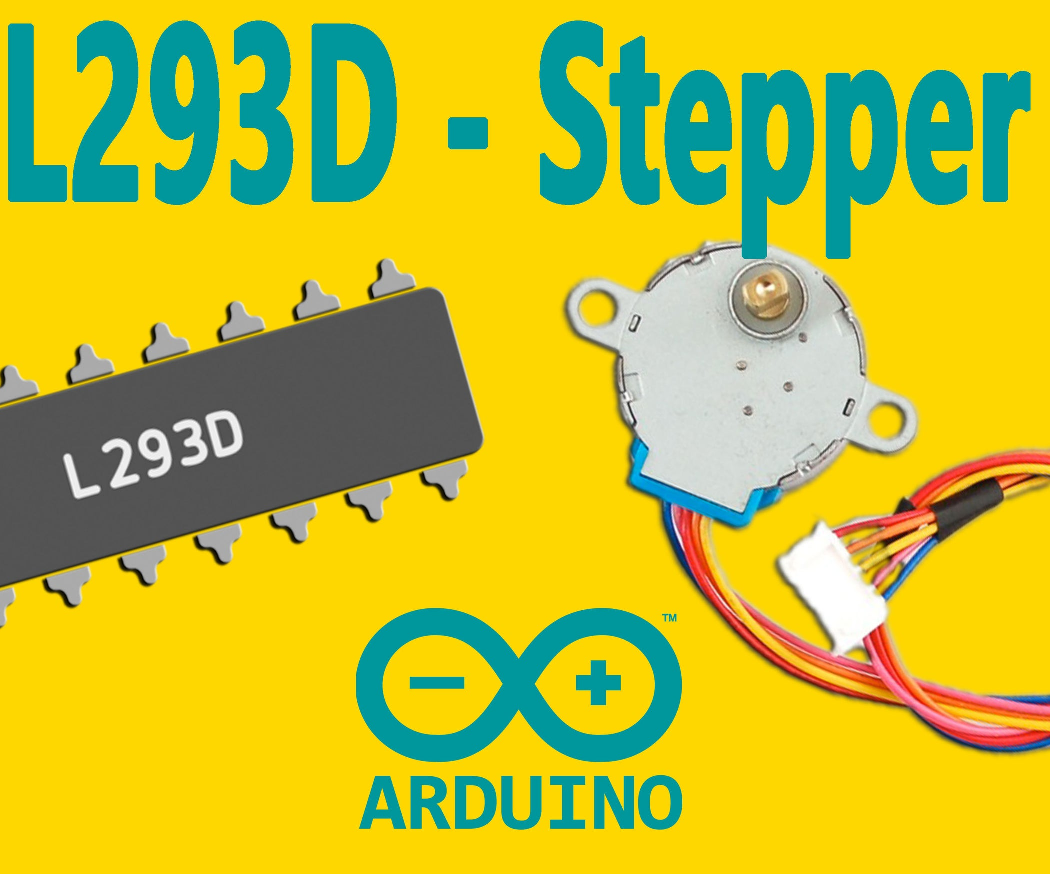 Arduino How To Control A Stepper Motor With L293d Driver 5 Unipolar Schematic Steps Pictures