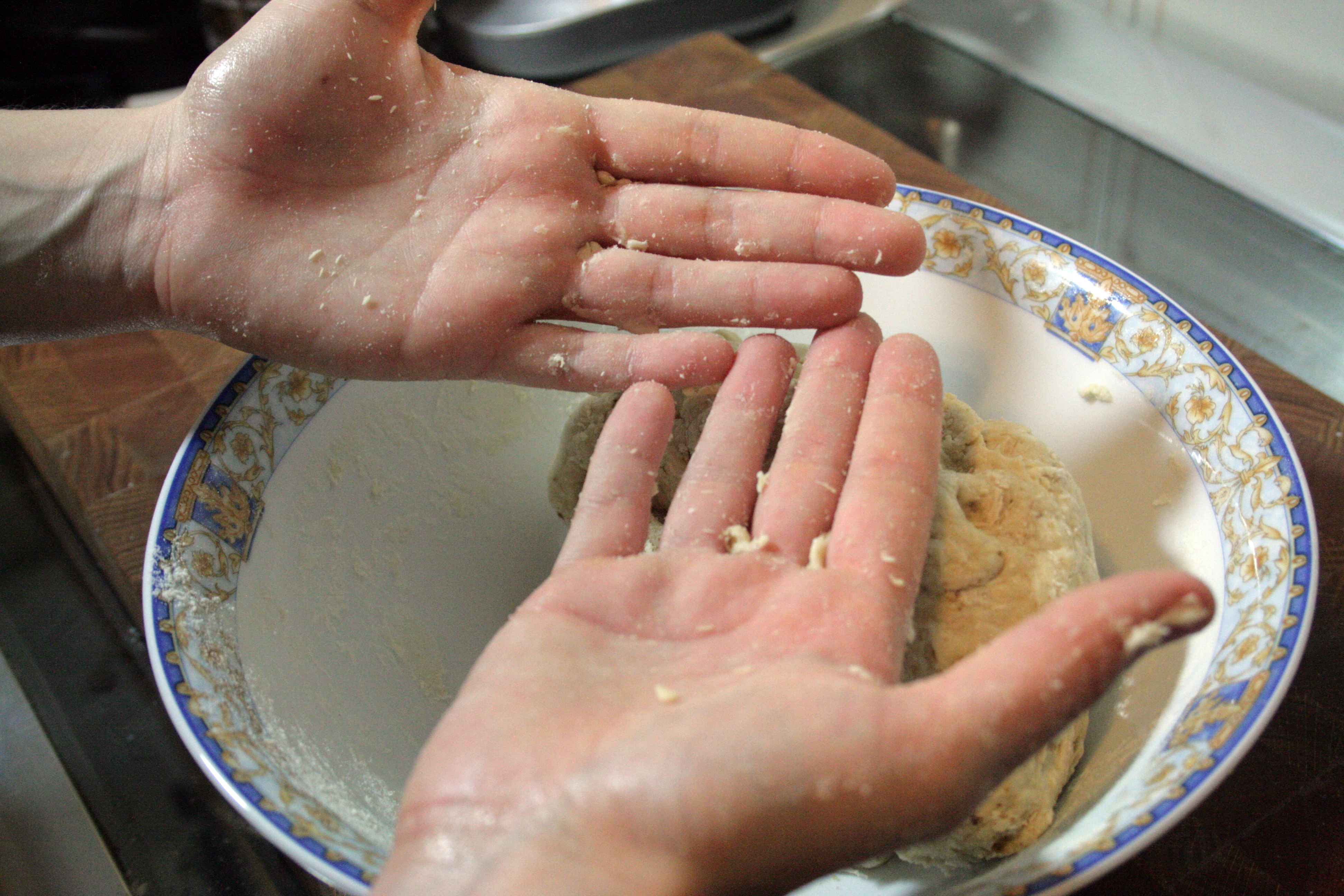 Picture of Working the Dough