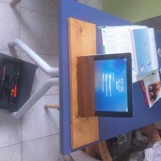 DIY Wooden $5 IPad Dock / Stand : 5 Steps - Instructables