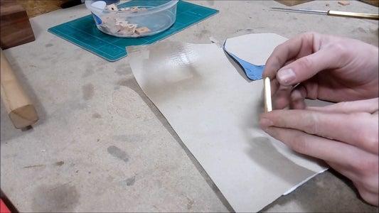 Gluing the Blank