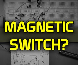Using a Magnet As a Hidden Electronic Switch