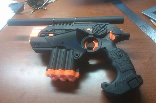 Picture of Paint a Phoenix LTX Lazer Tag Gun