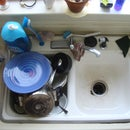 Wash Dishes By Hand