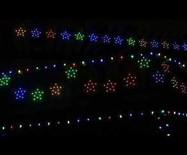 Make a Pixel Star String