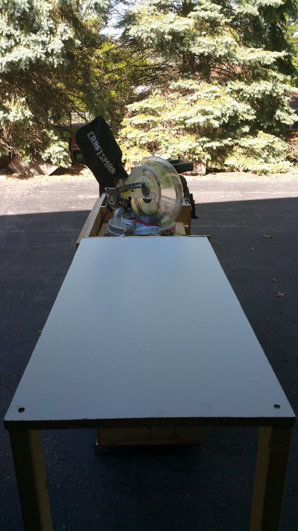 Picture of Miter Saw in Use