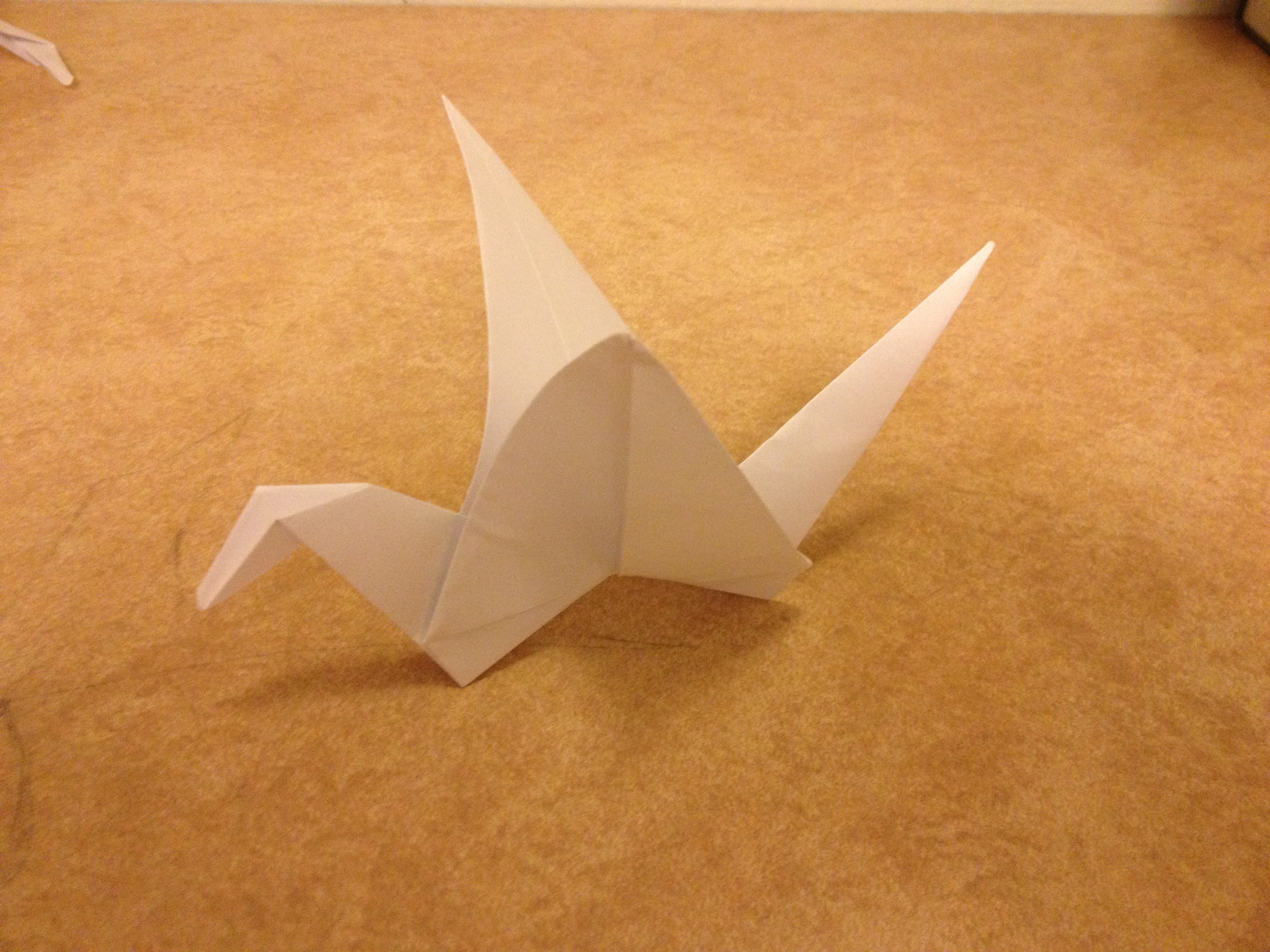 moving origami: how to make a swan origami | 2448x3264