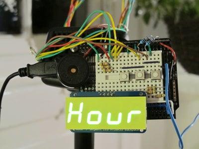 Buzz Wire Alarm Clock