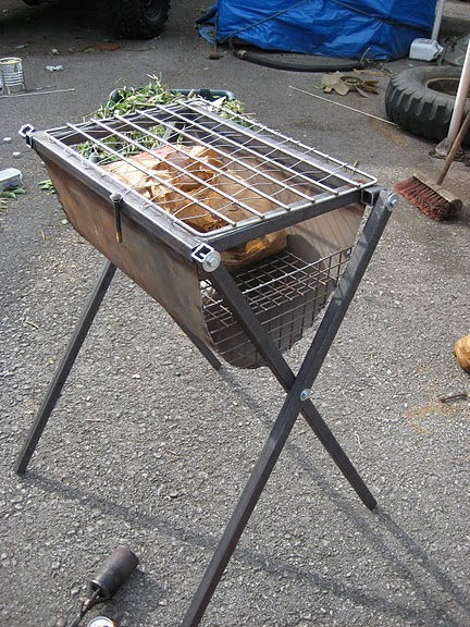 How to Weld a Barbecue.