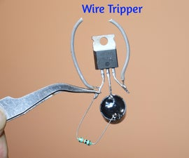 How to Make Wire Tripper Circuit Using Z44N MOSFET