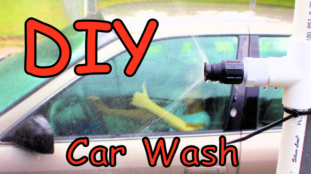 Picture of PVC Pipe Car Wash